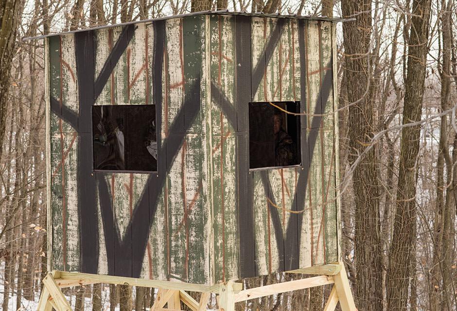 StealthSlider™ Tinted Windows | OakRidge Hunting Blinds